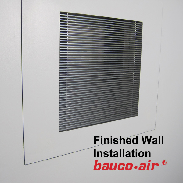 Bauco Air 12x12 Grill Close Up