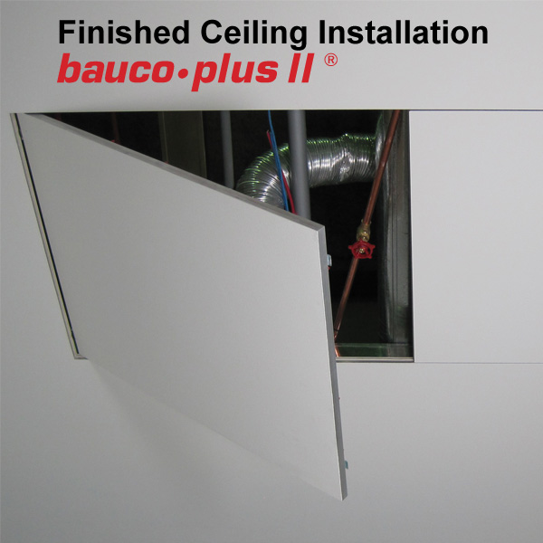 Bauco Plus II Ceiling Double Door Bomb Bay