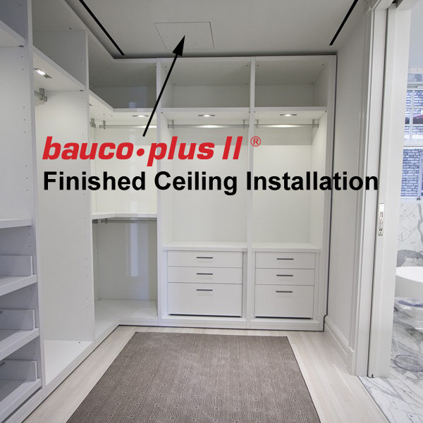 bauco plus II interior design access panel