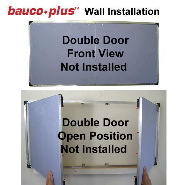 baucoplus fully hinged access panel pictures double door 2015