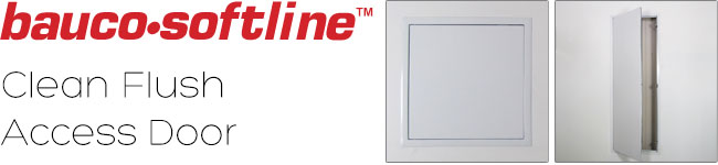 Bauco softline - clean flush access door