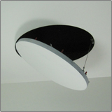 bauco rondo round drywall access panel - architectural finish