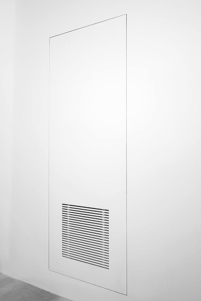 Bauco Air grill - frameless air return access door