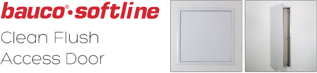 Bauco softline - custom Access panels with flush mount