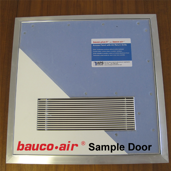 Sample Access Panel
