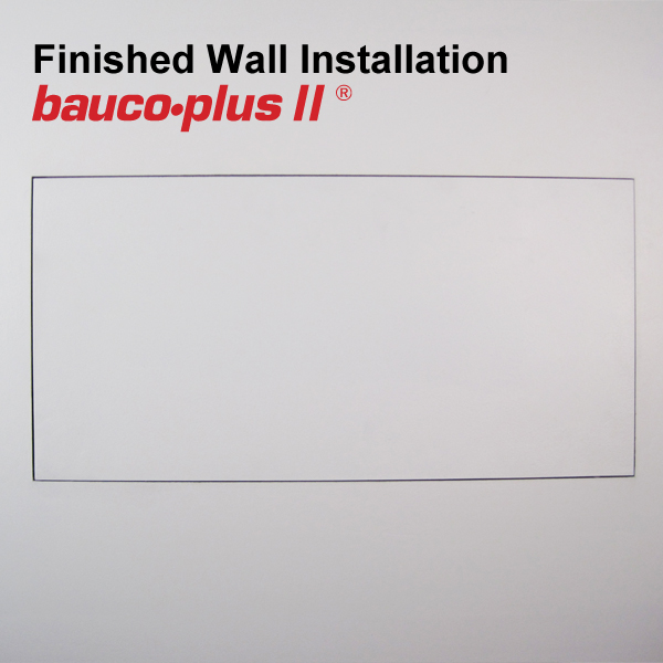 bauco plus II access panel 24 x 48 Wall Closed