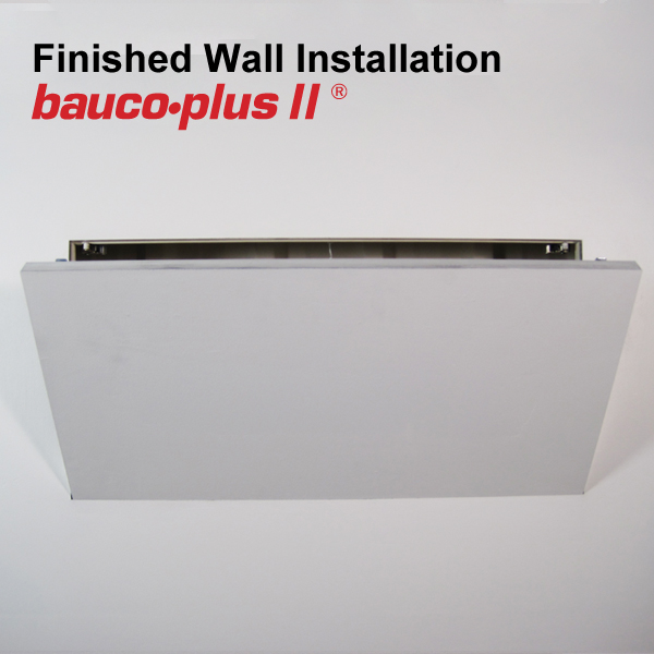 bauco plus II access panel 24 x 48 wall open