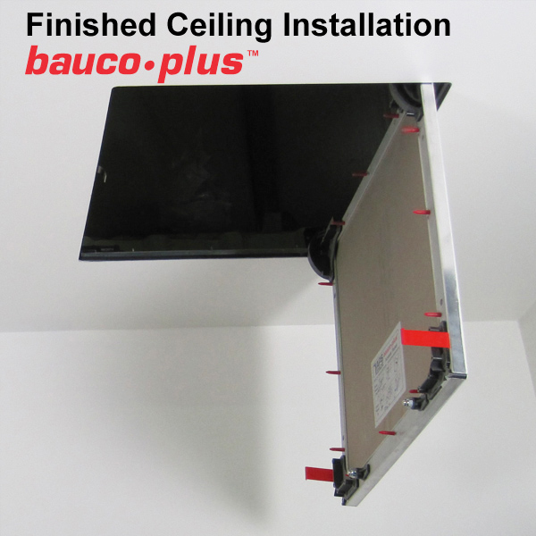 baucoplus - fully hinged access panel - ceiling mount 2015
