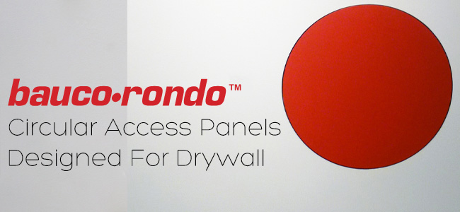 bauco rondo - round access panel - product details 2015