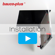 bauco plus installation of access panel demo video
